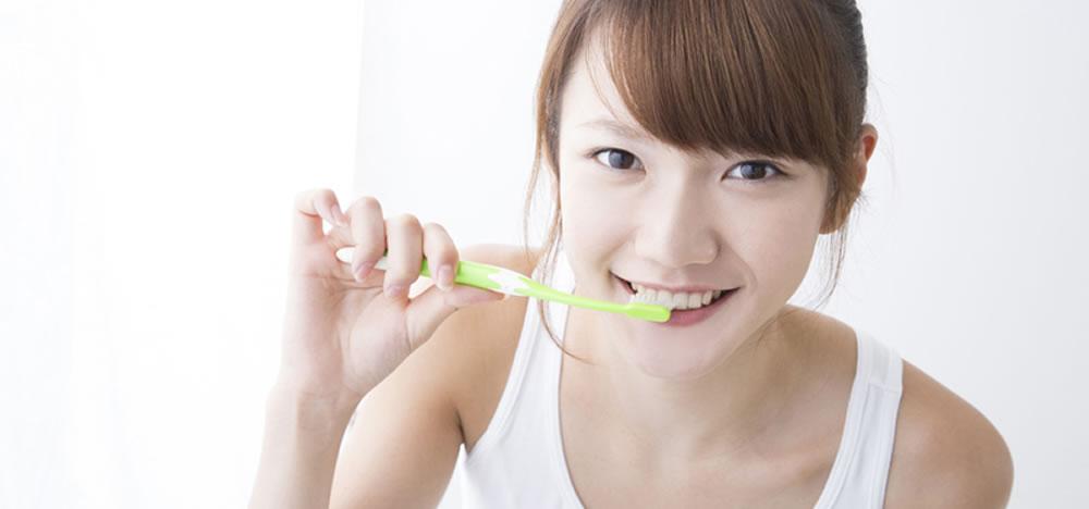 歯磨きだけでは不十分