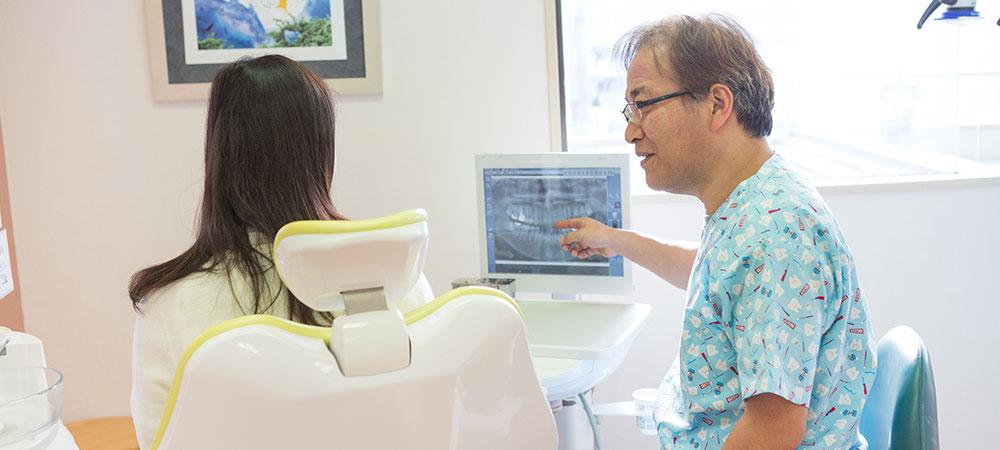 説明の丁寧な歯科医院